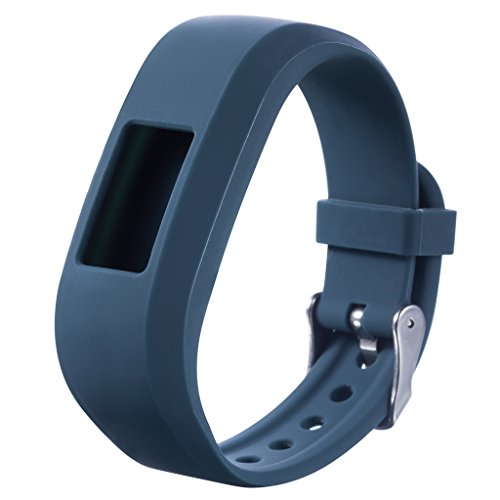 zijianZZJ Ersatz-Uhrenarmband, Silikon, für Garmin Vivofit JR JR2 Junior Fitness, 2#As The Picture Shown