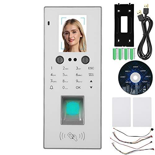 Tür Zugangskontrollsystem, 2,8 Zoll TFT Farbdisplay Gesicht/Fingerabdruck/Kennwort/TCP/IP Karte Türöffner, Time Recorder Access Control System mit Software CD Access Control Device