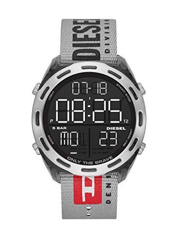Diesel Herren Digital Uhr mit Nylon Armband DZ1894