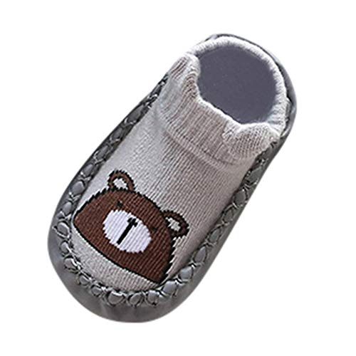 (SOMESUN Baby Süße Weich Krabbelschuhe Neugeborenes Jungen Mädchen Karikatur Gemütlich Baumwolleschuhe Krabbel- & Hausschuhe Kinder Leichtgewicht Freizeit Wanderschuhe Kleinkind Schuhe)