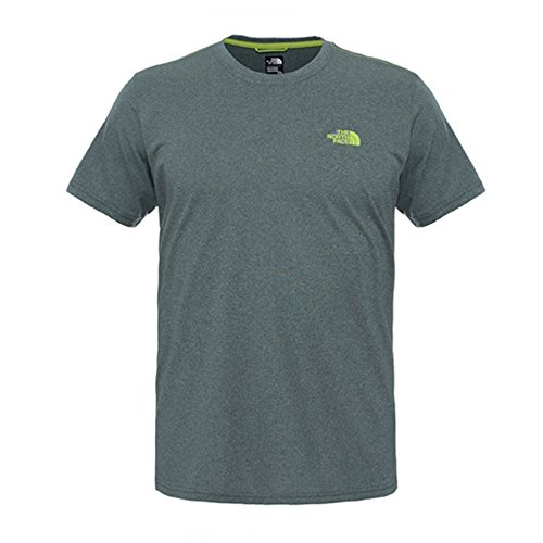 North Face Herren T-Shirt M Ma Graphic Reaxion Amp Crew Eu, Spruce Green Heather, S, 0706421952880 (Heather-crew-t-shirt Green)