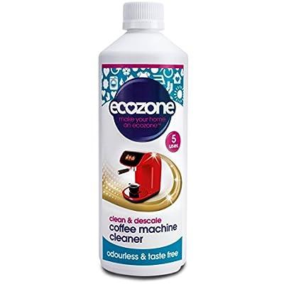 Ecozone Coffee Machine Cleaner/Descaler 500 ml (Pack of 12)