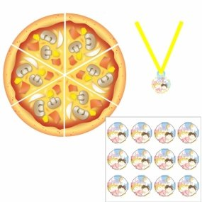 Find the Pizza Party Spiel ()