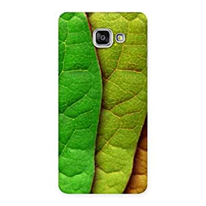 Stylish Pattern Leaf Back Case Cover for Galaxy A7 2016