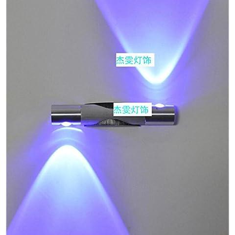 lámpara de pared / interior / exterior de pared LED / E27 220V / bombillas no incluidas /