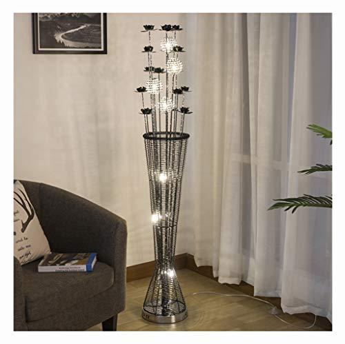 ASHENG Lámpara de pie para Sala de Estar del Dormitorio, lámpara ...