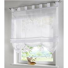 simpvale condole estilo romano l caida sombra ventana cortina para balcon y de la cocina