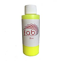 Silly Farm Fab híbrido de Maquillaje con aerógrafo - Amarillo Fluorescente (2 oz)
