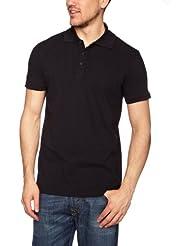 Helly Hansen Crew Polo - Polo para hombre, color negro, talla XL