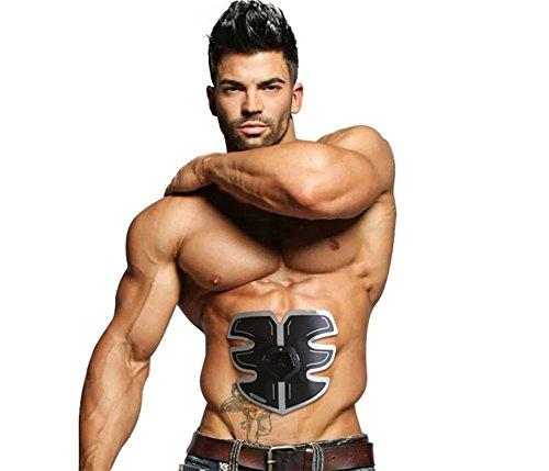 AMYB Charminer Elettrostimolatore Muscolare Trainer,Cinture Addominali Cinture EMS Trainer Body Fitness Trainer...
