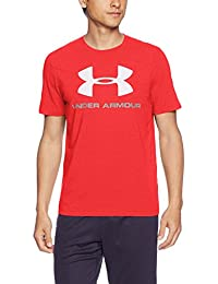 Under Armour Cc Sportstyle Logo Camiseta de Manga Corta, Hombre, Rojo (Red/White), L