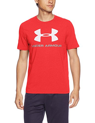 Under Armour Herren Cc SPortstyle Logo Fitness T-Shirt, Rot, M