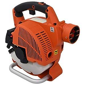 yorten 3 in 1 Benzin-Laubbläser 26 CCM Orange Laubbläser mit 45L Gebläse 750 W 8500 U/min Orange und Schwarz