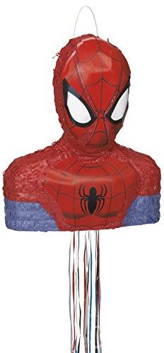 Pinata Spiderman Marvel Pull Pinata 3 D Spiel für Kindergeburtstag Party