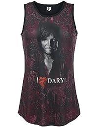 The Walking Dead I Love Daryl Dixon Top Mujer multicolor