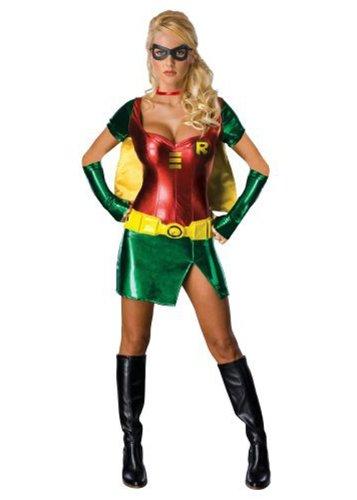 Sexy Girl in Robin Superhelden Kostüm M (UK 12)