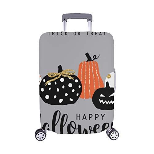 (Nur abdecken) Happy Halloween Staubschutz Trolley Protector case Reisegepäck-Schutzkoffer-Abdeckung 28,5 X 20,5 Zoll