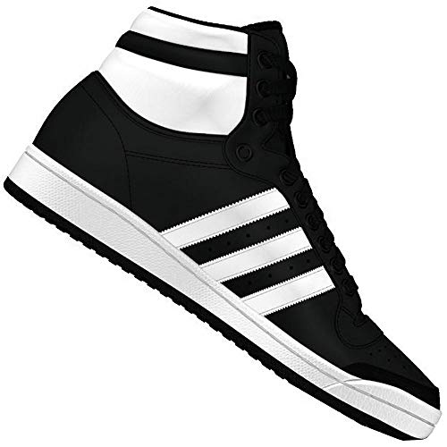 adidas Originals Top Ten Hi Sneaker B34429 Black/White Gr. 39 1/3 (UK 6) (Adidas-hi-top Schuhe Frauen)