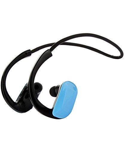 Sytech SYX1249WPBT - Reproductor MP3 sumergible con Bluetooth de 8 GB, color azul
