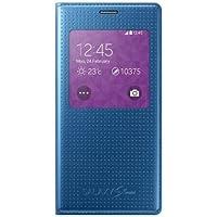 Samsung Punching Pattern S-View Hülle für Galaxy S5 Mini electric-blau