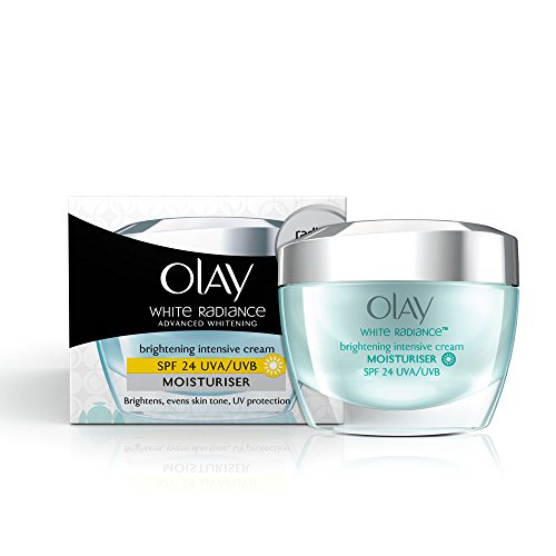 Olay White Radiance Advanced Fairness Protective Skin Cream Moisturizer SPF 24/PA++, 50g