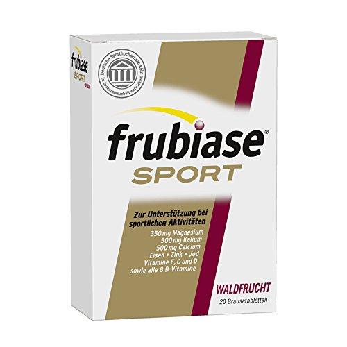 frubiase Sport Waldfrucht Brausetabletten, 20 St. Tabletten