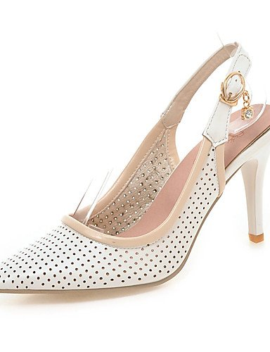 WSS 2016 Chaussures Femme-Mariage / Habillé-Rose / Violet / Blanc-Talon Aiguille-Talons / Bout Pointu-Talons-Similicuir pink-us10.5 / eu42 / uk8.5 / cn43