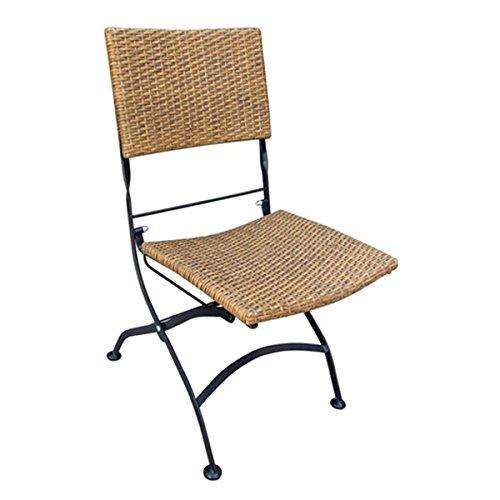 Rattan, Ohne Armlehnen Stuhl (VARILANDO Klappstuhl