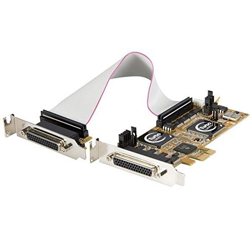 StarTech. com 8Port Serielle RS232Serial 2S1P PCI Express Low Profile PCIe Low Profile-Zubehör (PCIe, seriell, RS-232, 128B, 0,00088Gbit/s, 0-55°C)