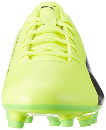 Puma Evospeed 17.5 Fg, Chaussures de Football Homme Jaune (Safety Yellow-puma Black-green Gecko 01)
