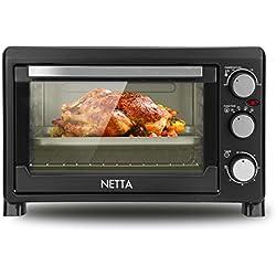 Netta Mini Four Electrique 1500W 23L - Noir/agent