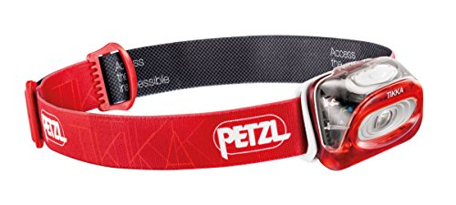Petzl Tikka Head Lamp - One Size, Red