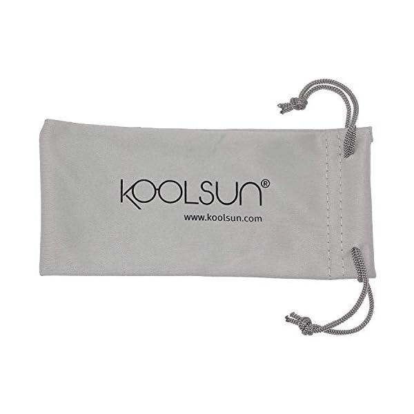 KOOLSUN - Gafas de sol para niños (1-5 años, acuario blanco) 2
