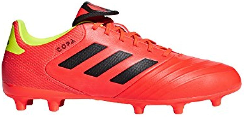 Adidas Men's Copa 18.3 Firm Ground Soccer scarpe, Solar rosso nero Solar giallo, 11 M US | Ampie Varietà  | Scolaro/Signora Scarpa