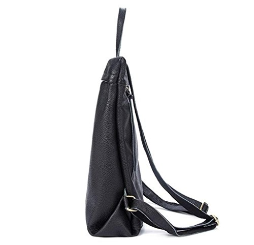 Shfang Leather Lady Double Shoulder Bag / Fashion Leisure Backpack / Student Bag, Andare A Scuola / In Viaggio, 3 1