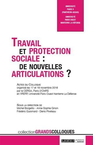 Travail et protection sociale. De nouvelles articulations ? par Collectif
