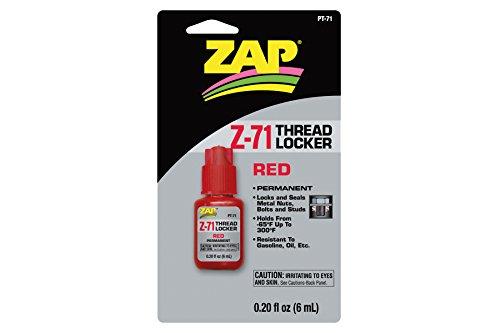 Zapf Creation ZAP PT71 - Z-71 Schraubensicherung 6 ml endfest (Schraubensicherungslack Roter)