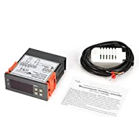 Oyamihin MTC1000A AC 220V Microcomputador Digital LED Controladores de Humedad Higrómetro Deshumidificador Interruptor Relé Hygrostat 0-99% RH Control - Gris