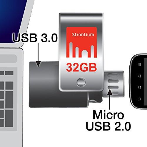 Strontium Nitro Plus USB 3.0 32GB Pen Drive (Black)