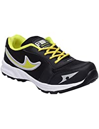 CF_Better Deals Mens Synthetic Mesh Green Black Coloured Sports Shoe| Running Shoes| Pro Running Shoes| Sprint...