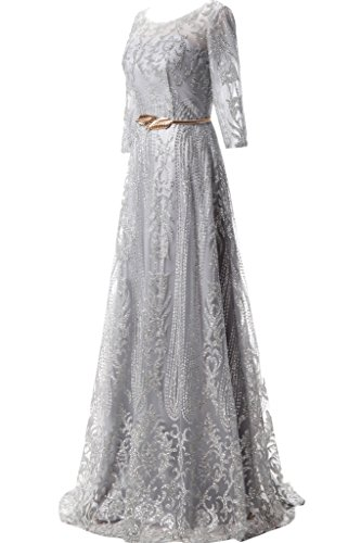 Promgirl House - Robe - Trapèze - Femme Silber M