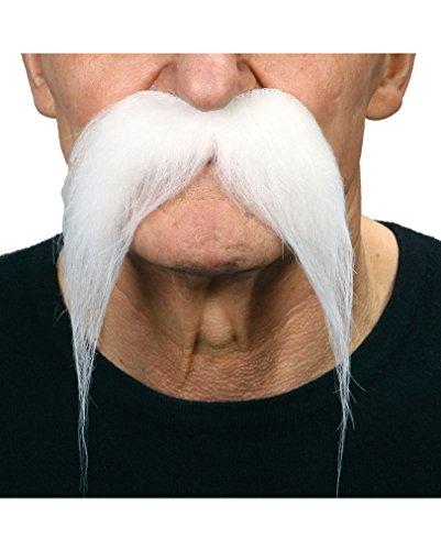 Preisvergleich Produktbild Schnurrbart weiß