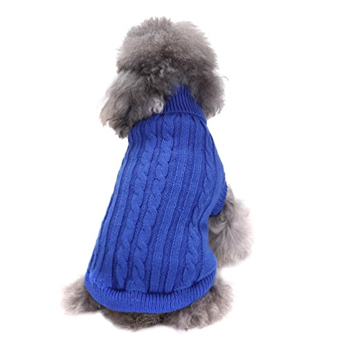 YiJee-Animaux-Tricot-Chandail-Animaux-Chiot-Nol-Vtements-Pure-Color-Pullover-pour-Chien