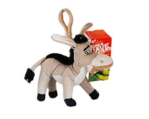 On Ane von Shrek–Schlüsselanhänger Plüsch Donkey von Shrek Original–Länge 12cm Shrek Rucksack