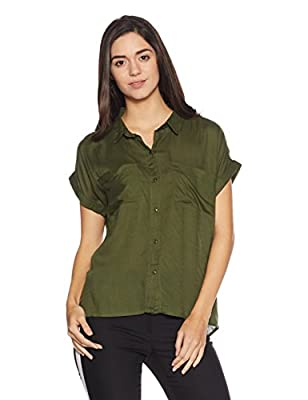Sugr by Unlimited Women's Body Blouse Shirt