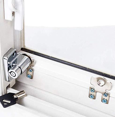1 Teile/los Schiebefensterschloss Kindersicherheit Schutzschloss diebstahl Türschloss Push/Pull Fenster Limit Schlösser -