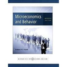 Microeconomics and Behavior by Robert H. Frank (2008-02-01)