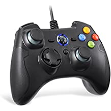 Easysmx Wired Game controller, esm-9100 Gaming controller, Dual Shock, Turbo Android Phone tablet OTG function & PS3/PC/TV box TV (nero)