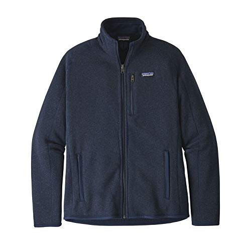 Patagonia M's Better Sweater Jkt Chaquetas Softshell, Hombre, New Navy, L