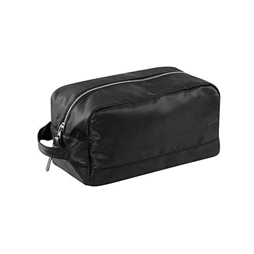 Bagbase Onyx - Beauty Case con Cerniera (Taglia unica) (Nero)